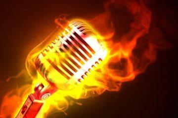 Mic on Fire