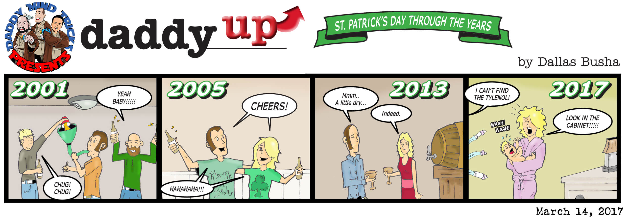 St. Patrick's Day Throughout the Years