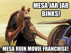 Jar Jar Binks sucks