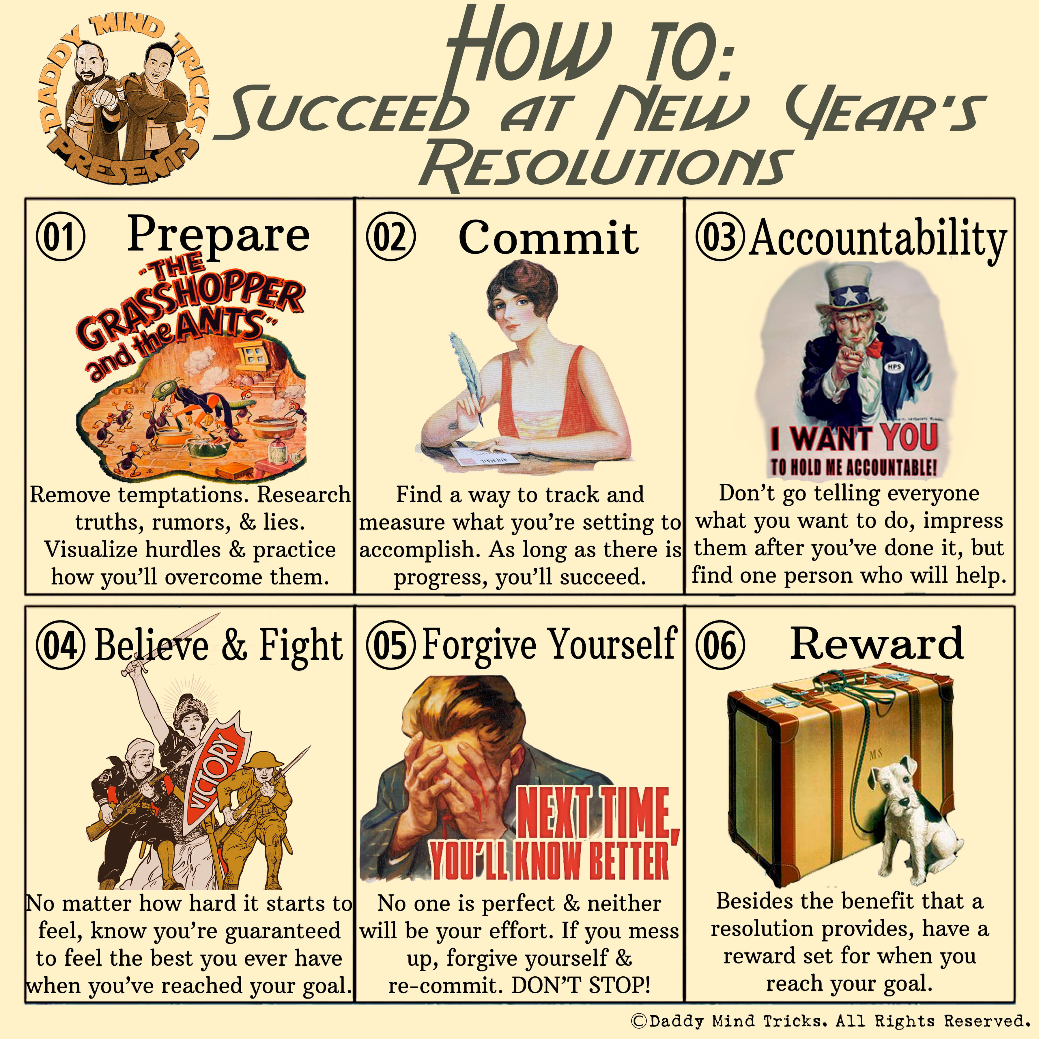 Succeed New Year's Resolutions